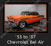 Urechem Automotive Paints | 1955 - 1957 Chevrolet Bel Air Restoration