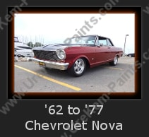 Urechem Automotive Paints | 1962 to 1977 Chevrolet Nova Restoration