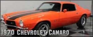 1970 Chevrolet Camaro restoration
