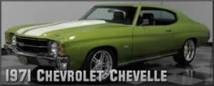 1971 Chevrolet Chevelle Restoration