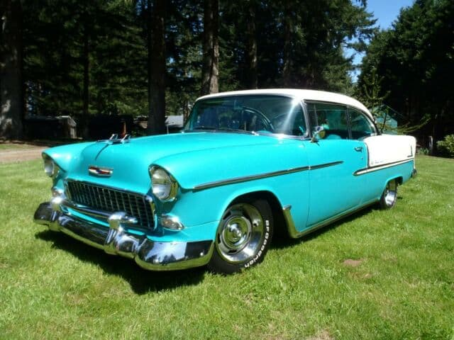 1955 chevrolet bel air hard top coupe