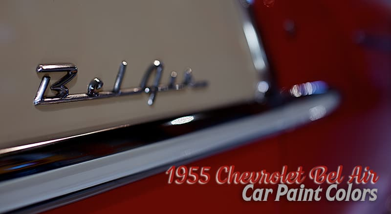 1955 chevrolet bel air header car paint colors